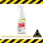Detergente igienizzante a base di ossigeno per sanitari, rubinetterie e rivestimenti ceramici, Flacone spray 750 ml