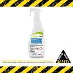 Soluzione igienizzante a base di ossigeno attivo e alcol, Flacone spray 750 ml